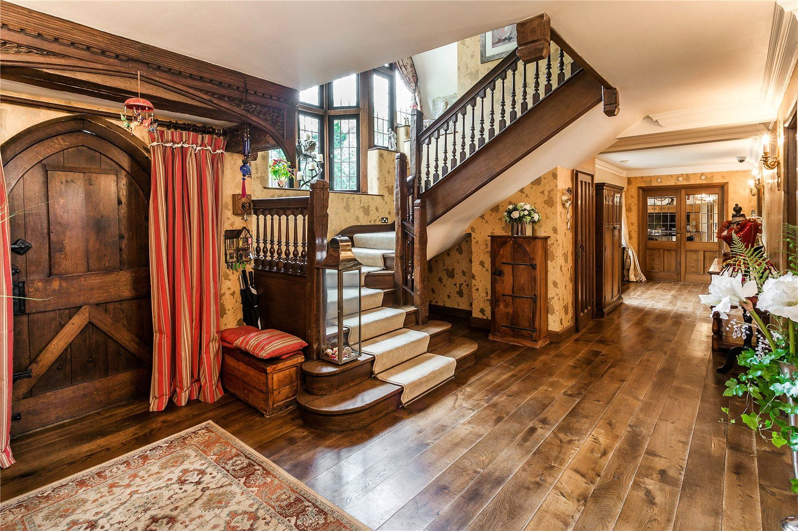 solid hardwood flooring, wide planks