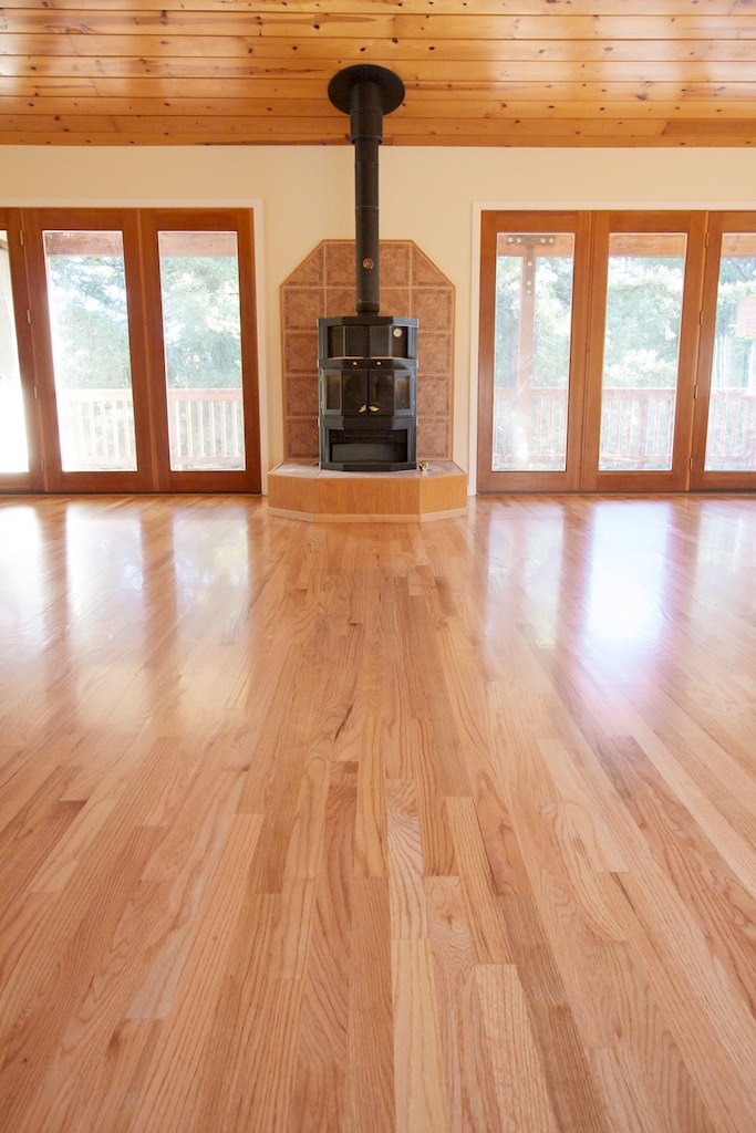 Natural Red Oak Hardwood Flooring