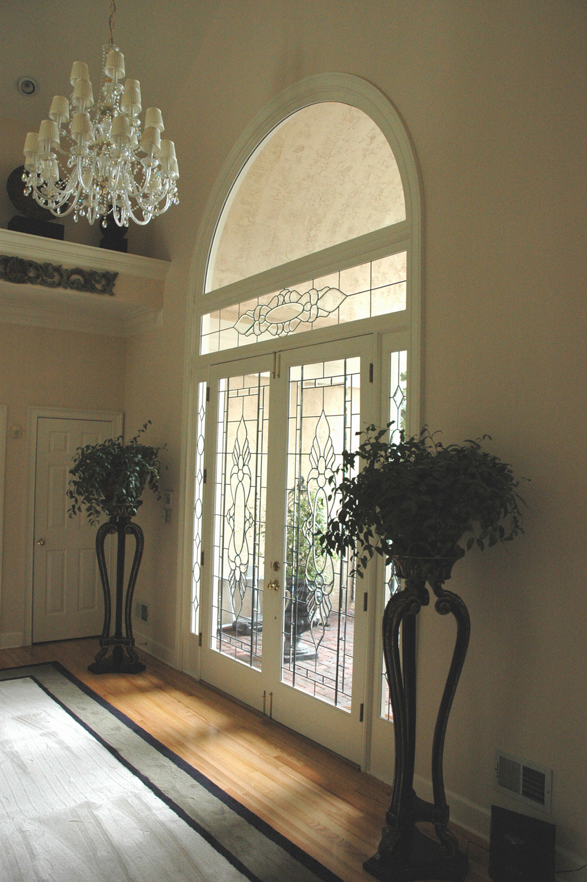 Hardwood flooring- entry