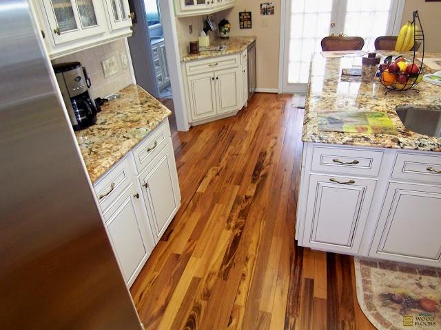 Brazilian Koa/Tigerwood Flooring