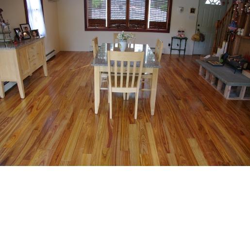Solid Canarywood Floor