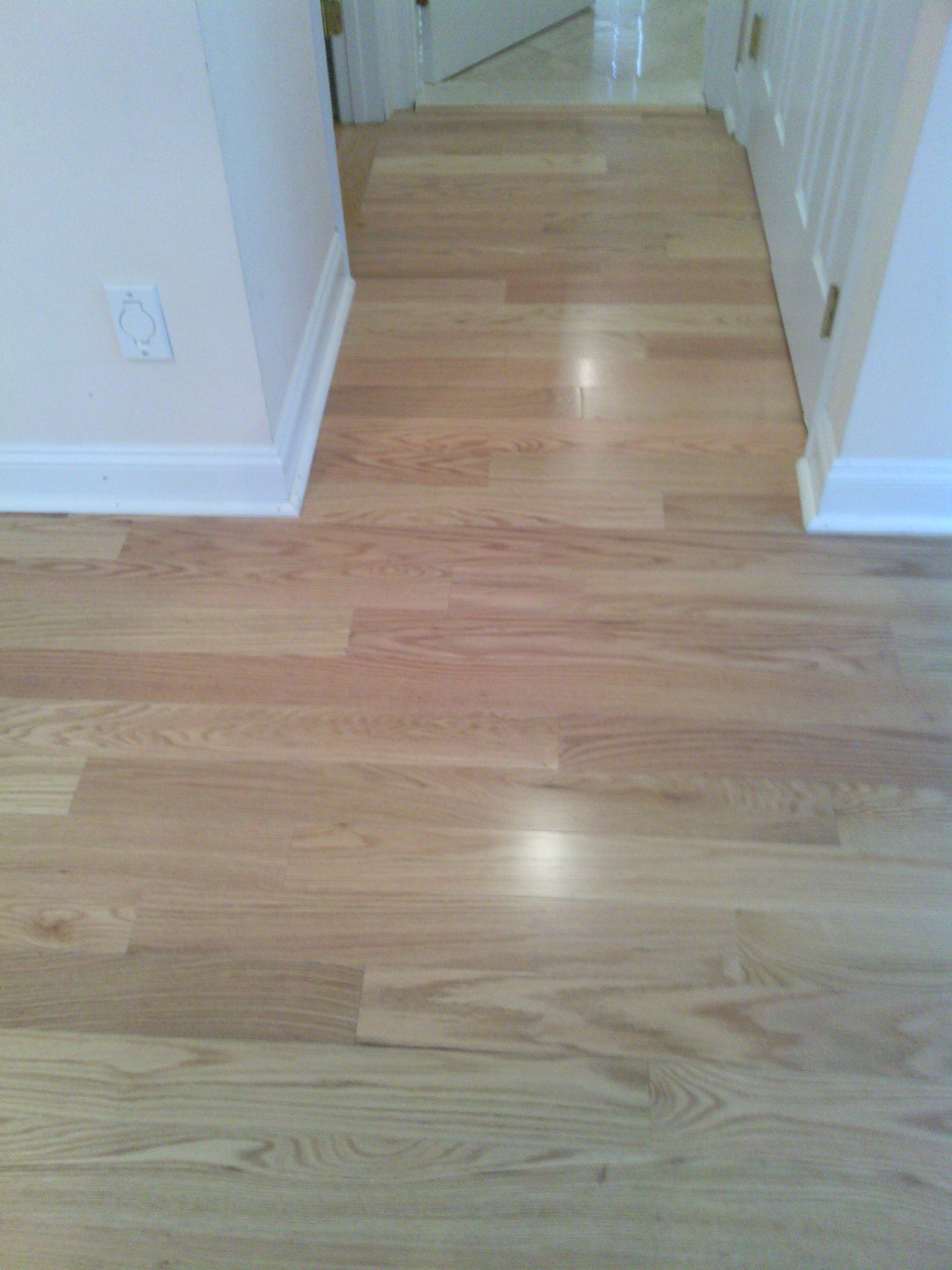 Pre-finished Red Oak Hardwood flooring