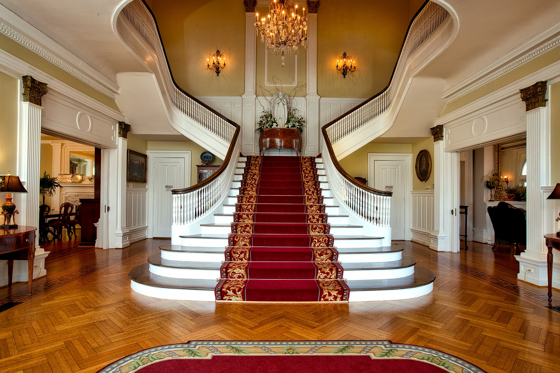 Herringbone - Governors mansion, Montgomery