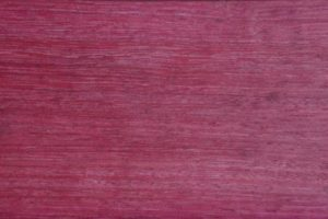 Purpleheart wood grain up close