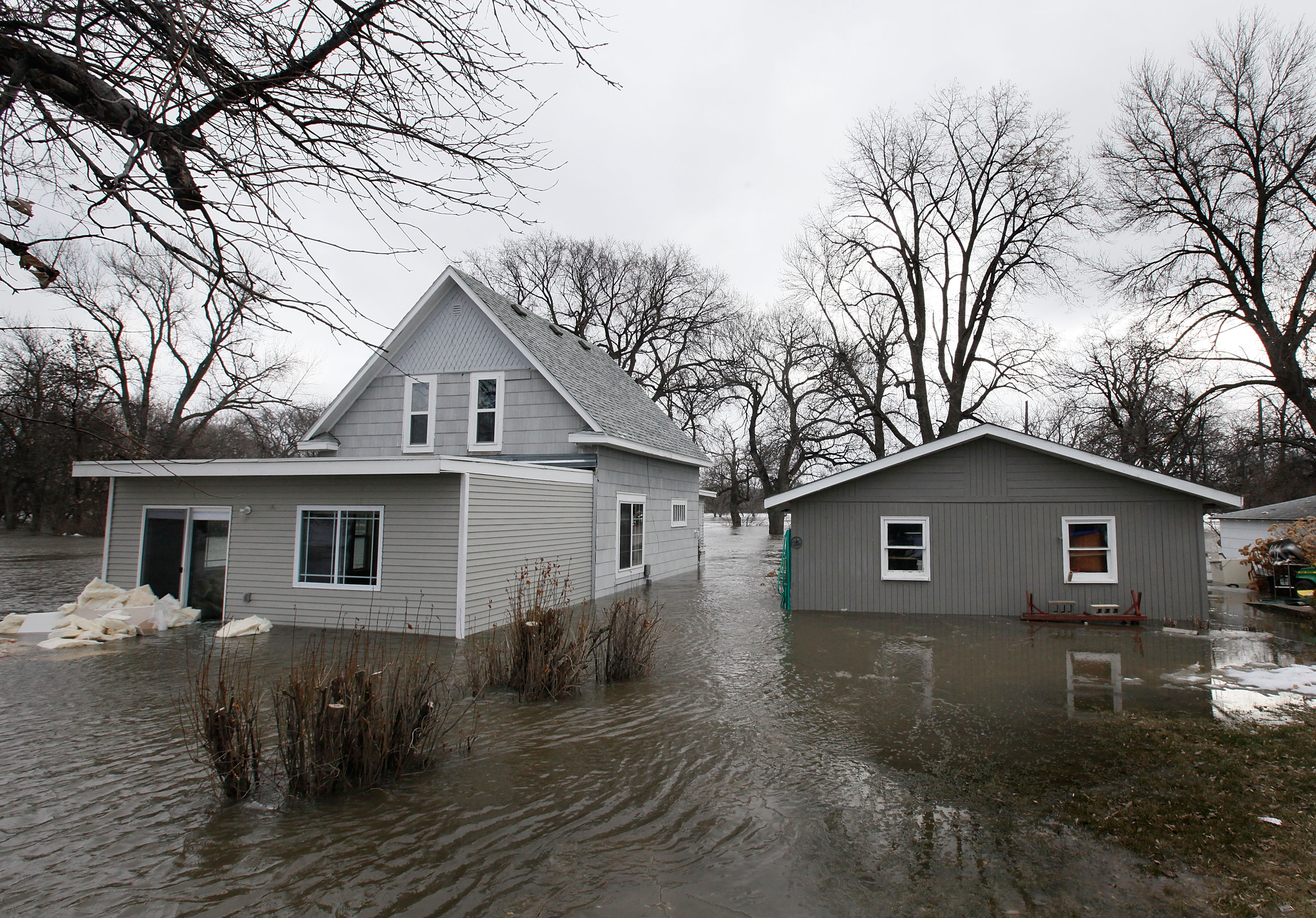 Red River Flooding Threatens Fargo For Second Consecutive Year