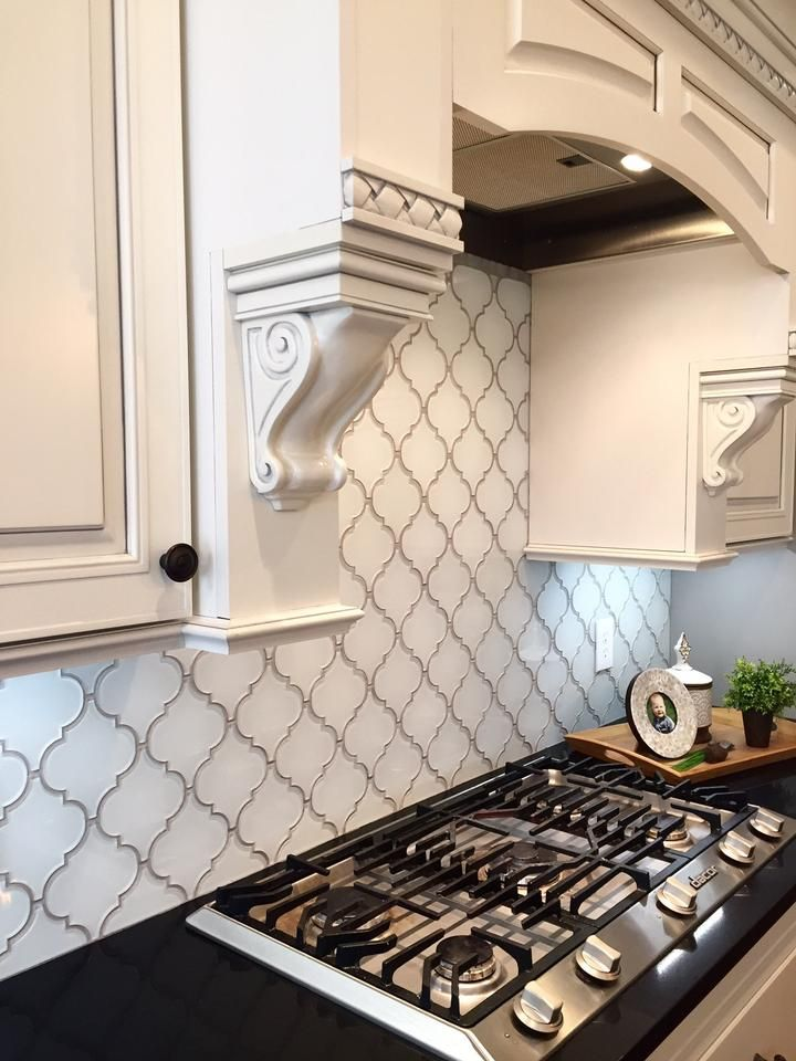 backsplash, geometric shape