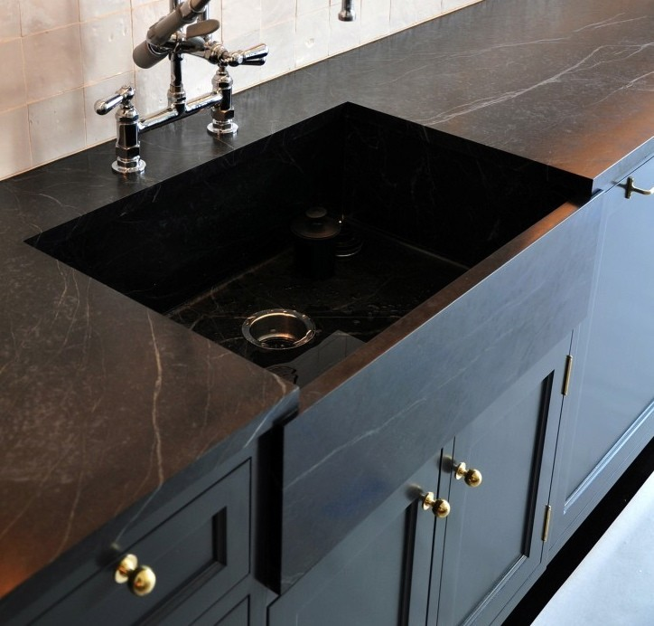 Black Soapstone Counter-top