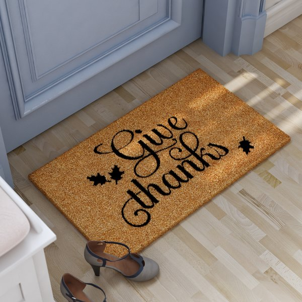 Floor may placed at the entry door of your home
