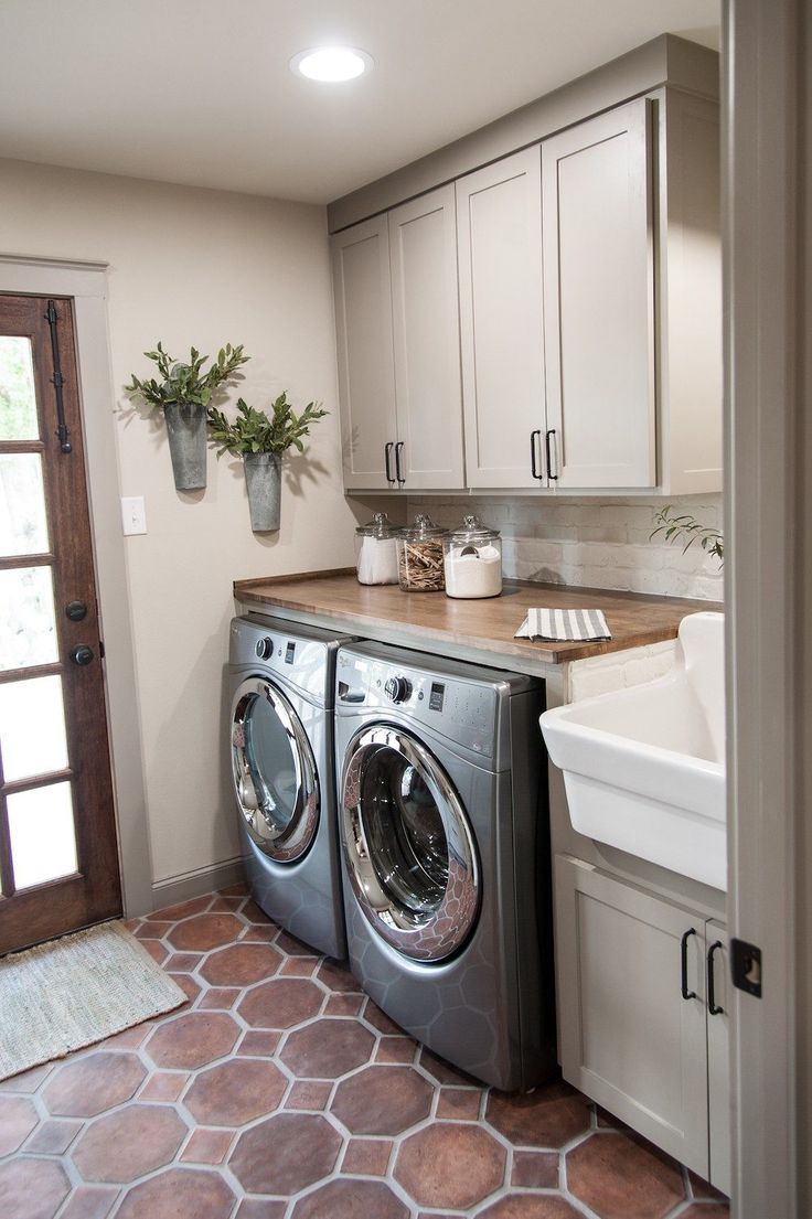 Best Flooring Basement Laundry Room
